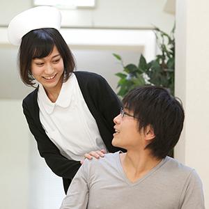 患者さんと恋愛する看護師のイメージ