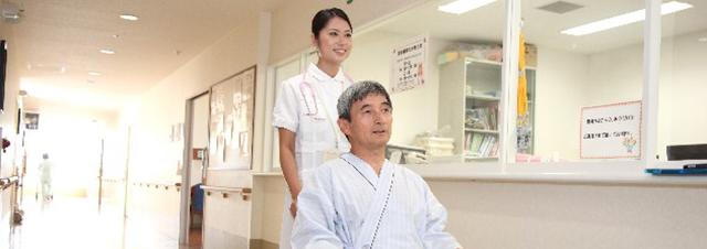 ナースと患者さんのイメージ画像